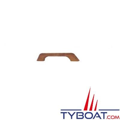 Main courante Teck longueur 33 cm - 1 pont