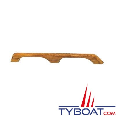 Main courante Teck longueur 58 cm - 2 ponts
