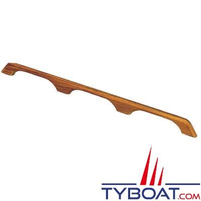 Main courante Teck longueur 84 cm - 3 ponts