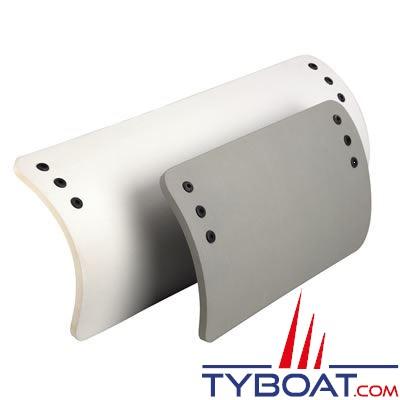 Plastimo - Pare-battage pour annexe - Mousse polyéthylène - 270 x 440 mm - Gris