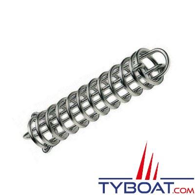 PLASTIMO - Ressort d'amarrage acier galvanisé électrolytique - Longueur 350 mm - Pour bateau 8 m