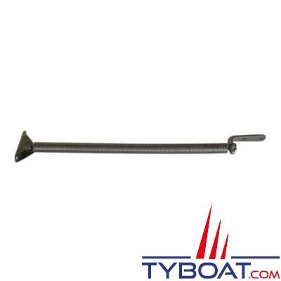 Ressort inox pour équipets longueur 260mm - Ø145mm avec patte en L