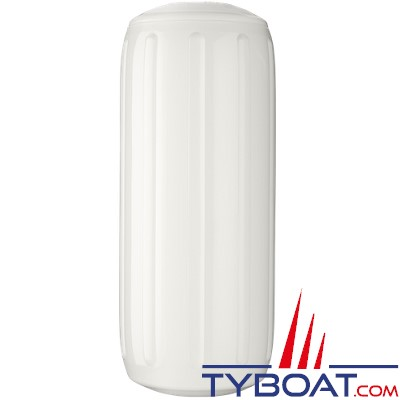 Pare-battage Polyform U.S   à cordage traversant HTM-3 blanc Ø26.7 x 68.6 cm