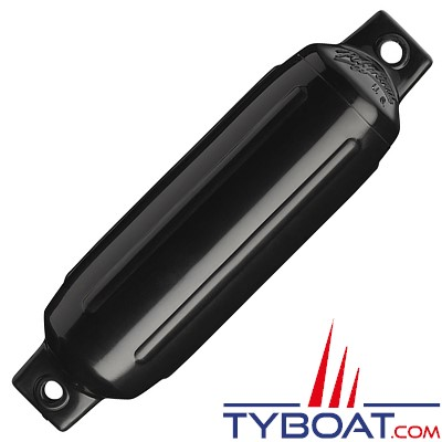Pare-battage polyform U.S G-1 noir Ø8.9 x 32.5 cm