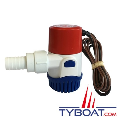 Pompe de cale automatique Rule 12V 500 GPH 1900L/H - modèle 25SA