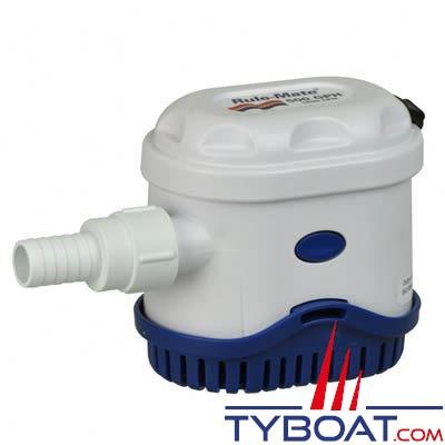 Pompe de cale automatique Rule-Mate RM500A 12 Volts 1900 Litres /heure
