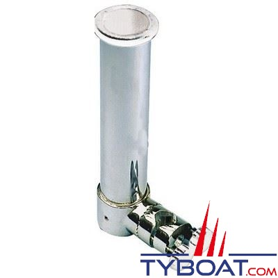 Porte-canne orientable Osculati orientable inox 316 pour balcon Ø 35-40 mm
