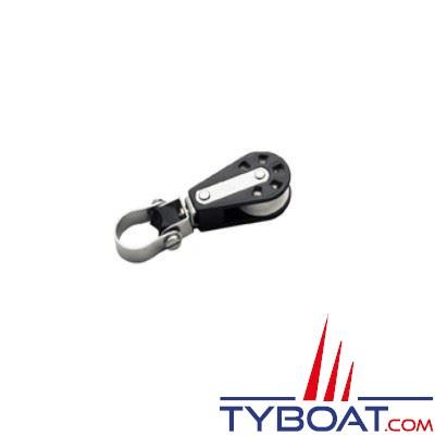 Barton Marine - Poulie de chandelier simple pour enrouleur avec cordage de 8mm