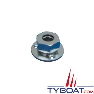 Presse-étoupe électrique marine en laiton chromé Reya Ø 6mm