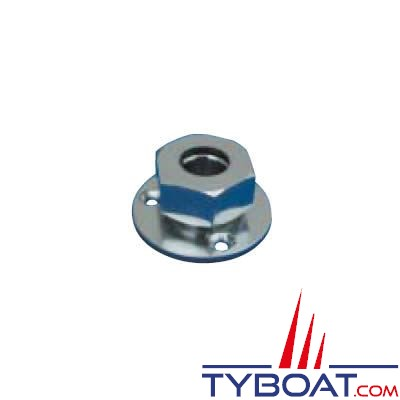 Presse-étoupe électrique marine en laiton chromé Reya Ø 8mm