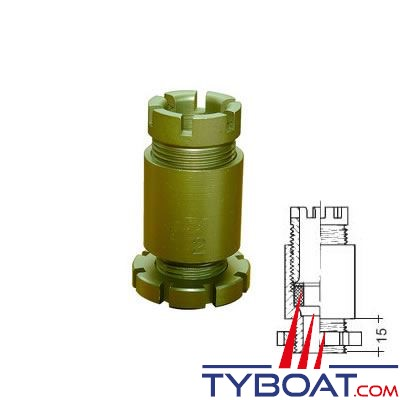 Presse-étoupe électrique marine en laiton Reya type BV1 BIS 2-8mm