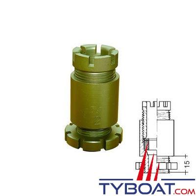 Presse-étoupe électrique marine en laiton Reya type BV4 16,5-22,5mm