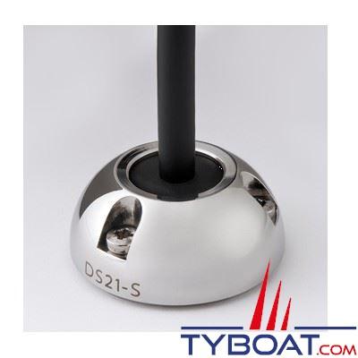 Presse-étoupe Scanstrut DS21A-S inox pour câble Ø 4-9 mm