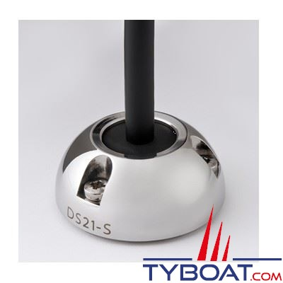 Presse-étoupe Scanstrut DS21B-S inox pour câble Ø 9-14 mm