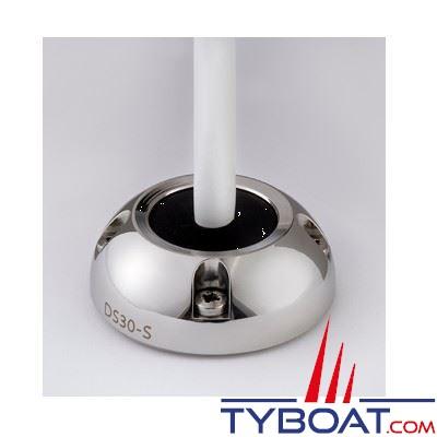 Presse-étoupe Scanstrut DS30-S inox pour câble Ø 9-14 mm