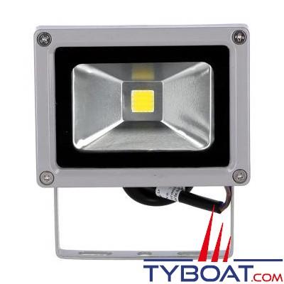 Projecteur à LEDs Genois  12Vdc - 10W équivalent halogène 80W 900 lumens IP65