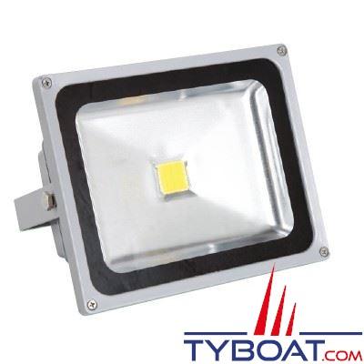 Projecteur à LEDs Genois  24Vdc - 10W équivalent halogène 80W 900 lumens IP65