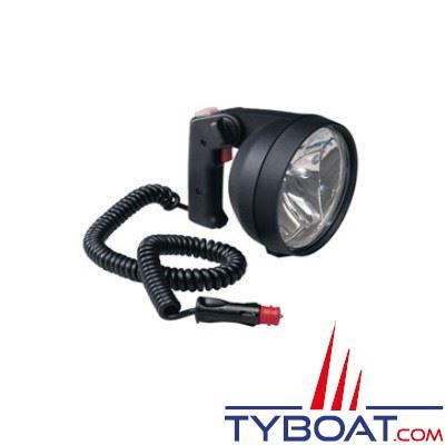 Projecteur Hella Marine étanche IPX6K avec 2 sources lumineuses halogènes proximité ou longue portée
