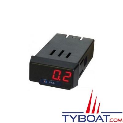 PROS By Ditel - PICA-E - Voltmètre-Ampèremètre 12/24VDC