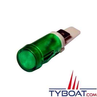 Pros by Ditel - Témoin lumineux LED - Ø 12 mm - Verte - 12/24Vdc - 23400069
