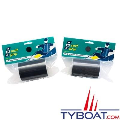 PSP Marine Tapes - Antidérapant - Soft grip adhésif, étanche - Noir - Longueur 2 mètres x largeur 100 mm