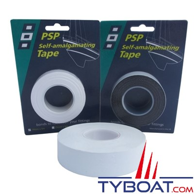 PSP Marine Tapes - Ruban auto-adhésif - Blanc - Longueur 5 m x largeur 5mm