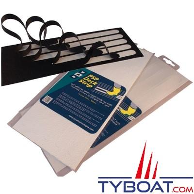 PSP Marine Tapes - Bandes anti dérapantes - Blanche - Longueur 300 mm x largeur 19 mm