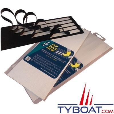PSP Marine Tapes - Bandes anti dérapantes - Noire - Longueur 300 mm x largeur 19 mm