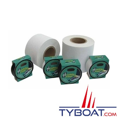 PSP Marine Tapes - Soft grip adhésif, étanche - Blanc- Longueur 20,5 m x largeur 100 mm