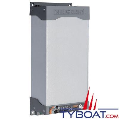 QUICK - Chargeur de batterie SBC 250 NRG - 12 Volts 25 Ampères 3 sorties