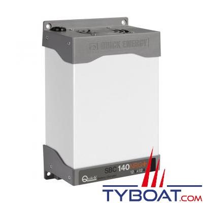Quick - Chargeur de batterie SBC NRG+ - 12 Volts - 12 Ampères - 2 sorties
