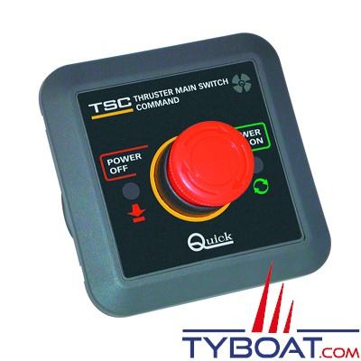 Quick - Commande coupe-circuit pour boitier TMS 12/24V