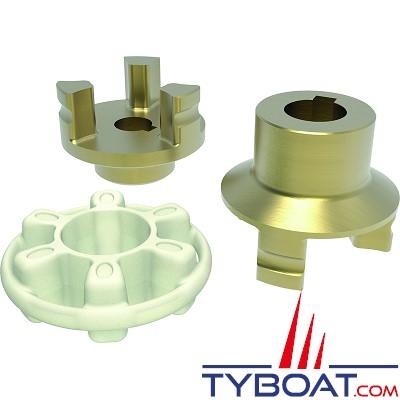 Quick - Coupling pour propulseur BTQ140 30Kgf et BTQ 140 40Kgf (12/24V)