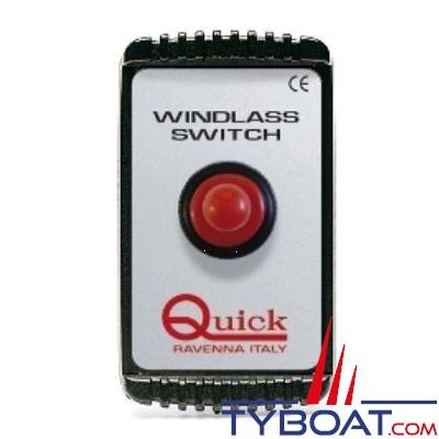 Quick - Interrupteur disjoncteur  magneto-thermique - 40 Ampères - 12/24 Volts