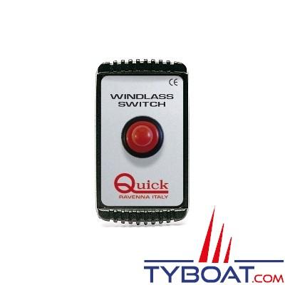 Quick - Interrupteur disjoncteur magneto-thermique - 80 Ampères - 12/24 Volts