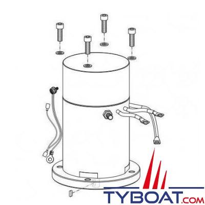 Quick - Moteur 3.0 kW + protection thermique pour BTQ 185-55 - FVEMFEL30121800