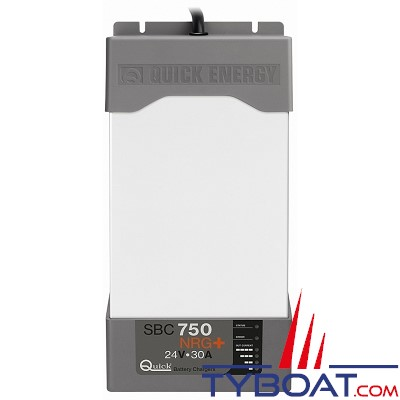 Quick - SBC 750 NRG+ - Chargeur batterie 24 Volts - 30 Ampères - 3 sorties
