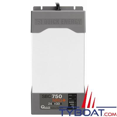 QUICK - SBC 750 NRG+ - Chargeur batterie 24V 30A 3 sorties NRG+