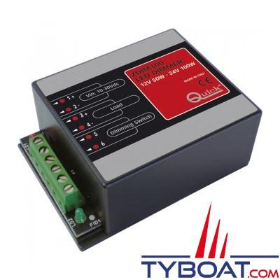 Quick - Variateur d'intensité d'éclairage ZDIM 100 -  50W-12 volts -100W 24 volts - FASP093CA2L1A00