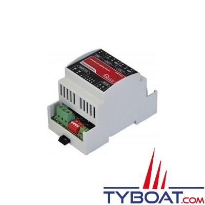 Quick - Variateur de lumière LDIM BUS 2CH - 2*50W/100W - 12/24V