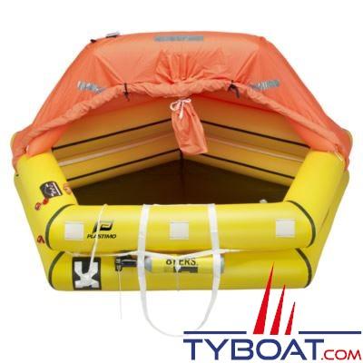 Radeau de survie côtier Plastimo Coastal 8 personnes en container