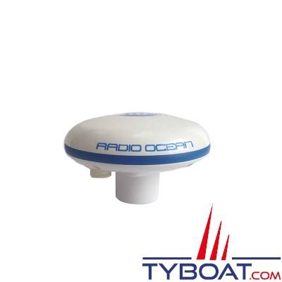 RADIO-OCEAN - ROGPS6 - Antenne ACTIVE GPS GLONASS Beidou,SBAS, étanche IPX7, NMEA0183