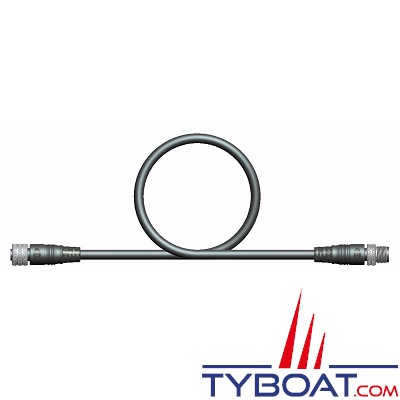 RADIO OCEAN - Câble NMEA2000 MICRO5C M/F Certifié - 1 mètre