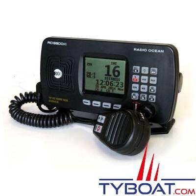 Radio Océan - VHF/ASN marine RO6800AIS - MEA0183 / NMEA2000 - Avec récepteur AIS