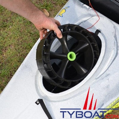 RAILBLAZA - Chariot démontable - Chariot canoe kayak C-TUG Sandtrakz - Charge 80 Kilos