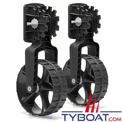 Railblaza - Roues tableau arrière C-Tug Dinghy wheels - Paire