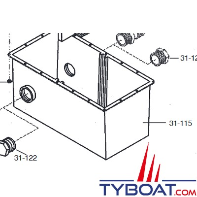 Raritan ElectroScan - Cuve pour centrale d'épuration (31-115)
