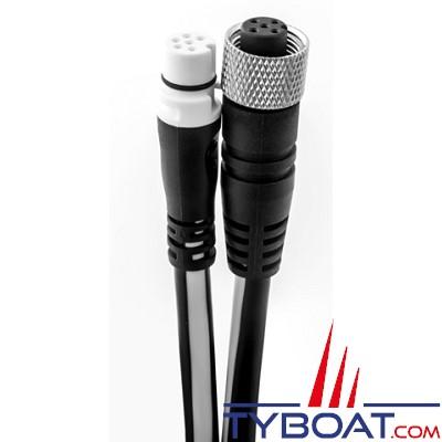 Raymarine - Câble adaptateur Seatalk NG vers NMEA 2000  Micro C femelle - 0.4 mètre