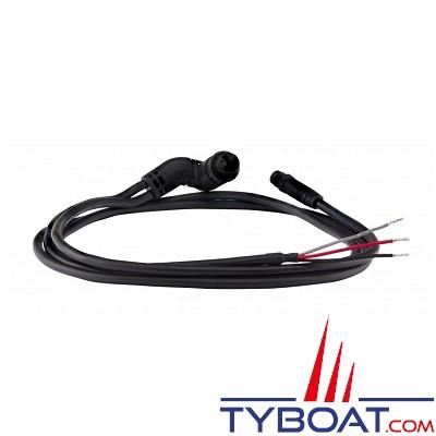 RAYMARINE - Câble d'alimentation Axiom droit 1,5 m avec connecteur NMEA 2000