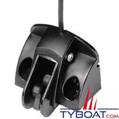 RAYMARINE - Capteur vitesse/température tableau arrière câble 13,8m